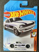 Hot Wheels Muscle Mania 1965 Mustang 2+2 Fastback - White
