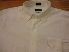"Peter Millar Collection ""Perfect Pinpoint"" Dress Shirt, NWT - Mens L - White"