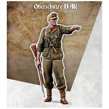 Scale 75 War Front German Oberschutze DAK 2 heads WW2 1/35th Unpainted Resin Kit