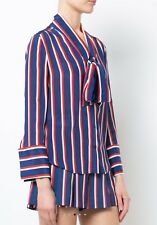 💭ALICE+OLIVIA striped blouse with pussy bow collar Size: Medium , $330💭 (10)
