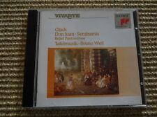 Gluck Don Juan Semiramis Tafelmusik Bruno Weil - CD