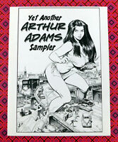 Yet Another ARTHUR ADAMS Sampler Sketchbook 2004 Signed Autographed V.3