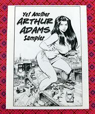 Yet Another ARTHUR ADAMS Sampler Sketchbook 2004 Signed Autographed V.3