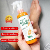 Cosmetics Foot Peeling Spray Natural Orange Essence Pedicure Hands Dead Skin