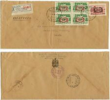 1946 Athens Greece Registered cover from Canadian Embassy to Missouri