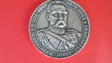 Medal : Marszalek Jozef Pilsudski - Odzyskanie Niepodleglosci 1918 r.
