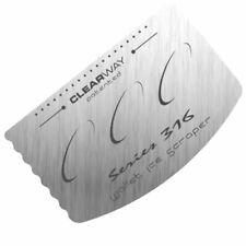 Wallet Ice Scraper - Emergency Stainless Steel Credit Card De-Icer Pocket Tool