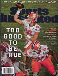 Sports Illustrated 2019 Clemson Tigers- CFP National Champions - Trevor Lawrence