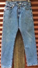 Levi Levi's Levis 501 Denim Jeans Blue Vintage High Waist Mom Fit W30 L32 Sz 10