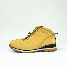 Men's Timberland Tan Suede Split Rock Walking Hiking Boots size 8.5 UK