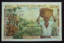 République Fédérale du Cameroun - 1000 Francs - 1962 - Sans Taille douce