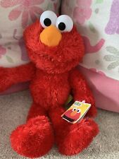Sesame Street Cbeebies Elmo Soft Toy New With Tags