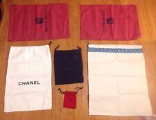 Lot Of 6 Dust Bags Prada Chanel Tory Burch Christain Louboutin Bruno Magli