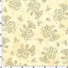 In Stitches By Maywood Studio - Light Cream Flower Spray  #8615-A