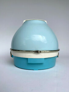 Vintage 1950's Aqua Blue Lady Sunbeam Hair Dryer - TESTED, WORKS!