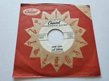 """CLIFF TOWNSEND & Saxophone - Avenue L'Opera / Song for Sweethearts 1956 PROMO 7"""""""