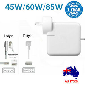 """45W 60W 85W 1/2 AC Power Adapter Charger For Mac Macbook Air Pro 13"""" 15"""" AU SHIP"""