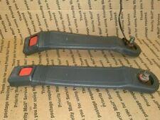 1989 89 TOYOTA COROLLA AE92L 2-DOOR LEFT/RIGHT FRONT SEAT BELT RECEIVERS/SNAPS
