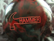 """HAMMER """"REAPER"""" 15 POUND BOWLING BALL- NEW- UNDRILLED"""