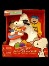 Rare Peanuts Snoopy Sno-Cone Machine Snow Cone Snowboard Mountain NEW