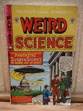 Weird Science by EC Vol. 1 #12 (1)-5 Fantastic Suspen Stories Paper Book*