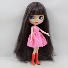"""Takara 12"""" Neo Blythe Matte Face Nude Doll from Factory TBY346"""