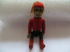 Antique 1920's Schuco Yes/No Bell Hop Mechanical Monkey