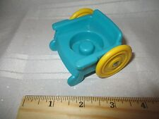 Fisher Price Little People School Bus Wheelchair blue yellow doctor office part