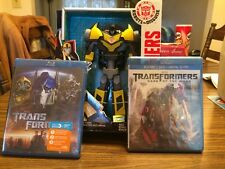 Transformers & Dark of the Moon  Blu Ray Movie + Bonus