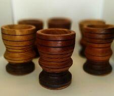 New ListingVintage Wooden Shot Glasses_-set of 6