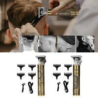 T9 Électrique Tondeuse À Cheveux Pro T-outliner Trimmer Barber Carving Tool