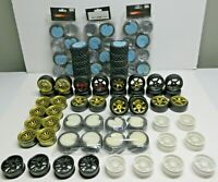 1:10 RC WHEELS AND TIRES / HUGE LOT / ALL NEW OLD STOCK NEVER USED GREAT DEAL!!