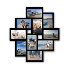 Bilderrahmen Fotogalerie 10 Bilder Kunststoff Bildergelarie schwarz Br9727