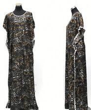 Femme Robe Caftan Marocain Abaya Dubai Long Arabe Farasha.size -M, L, XXL