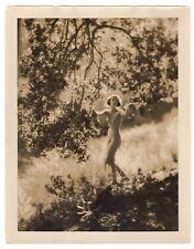 STUNNING ORIGINAL11x14 EDWIN BOWER HESSER ESTATE NUDE NYMPH SILVER GELATIN PHOTO