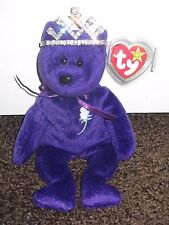 1997 Princess Diana TY Beenie Baby With Crown!!