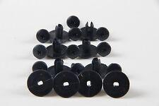 10x 6-7mm nero in plastica consente di tagliare clip fit Nissan Paraurti Pannello Fermo Rivet