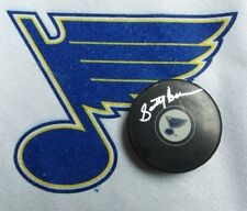 Scotty Bowman autographed St. Louis Blues hockey puck