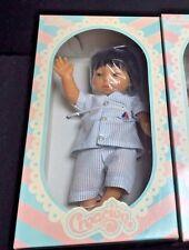 "Berjusa PREEMIE Baby Boy Doll ASIAN 13"" Anatomically Correct Spain MIB Creacion"