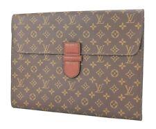 Authentic Vintage LOUIS VUITTON Monogram Canvas Document Case Bag #27967