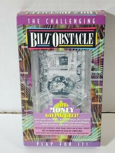BILZ OBSTACLE CASH MONEY MAZE GAME Bank The Money Giving Gift Box Challenge-New!