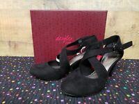 Dexflex 170295 MACIE Black Women's Heels Shoes Size 6 NWB