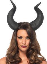 Morris Costumes Adult Animal Latex Horns Headpiece Black One Size. UA2155