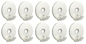 Picture Hanging Hooks 40kg Rated Heavy Duty Frame Mirror Wall Storage PACK OF 10