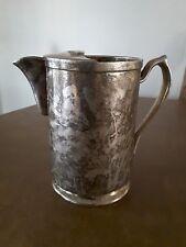 Grand Silver Co. Wear Brite Nickel Silver Pourer Pitcher