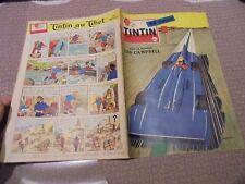 Journal Tintin 1959 Voitures de Record Campbell / Citroen DS Rallye Monte Carlo