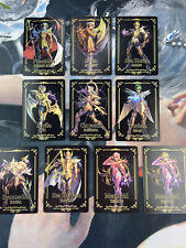 Saint Seiya Gold spirit Play Golden Cards Flash Syunrei Aries Libra Jango Athena