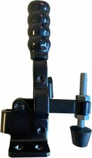 LavaLock BBQ Lid LL-12050 Full Black Handle Vertical smoker Door Clamp 200 lb. L