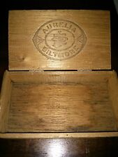Aurelia Biltmore 1926 Stamp Wooden 10 Cigar Box