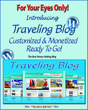Travel Around The World Blog Self Updating Website Clickbank Amazon Adsense ****